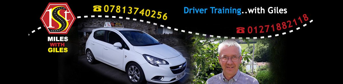 Giles Masterson Driver Training in North Devon